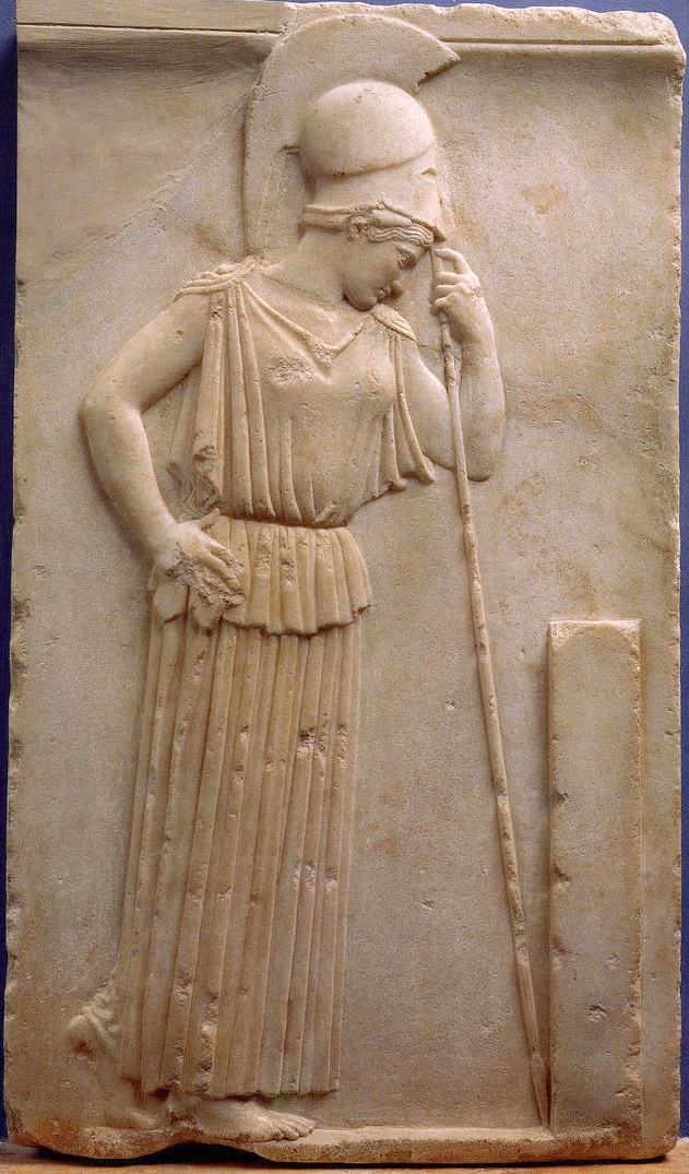 Athene bas-relief